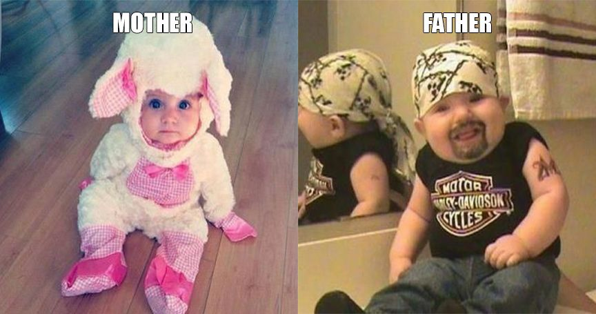Mom Vs. Dad: 20 Must-See Parenting Style Comparisons