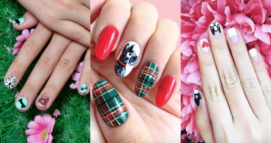 21 Pawesome Nail Art Designs For Any Dog Lover