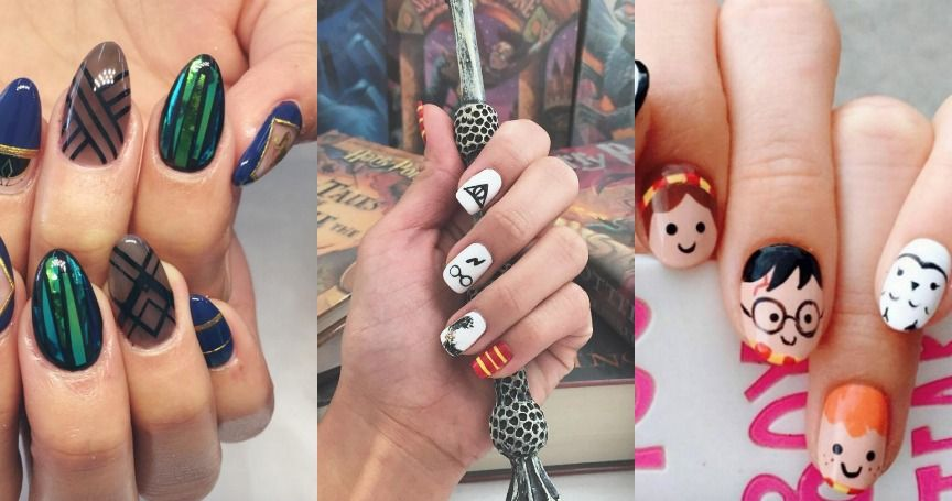 15 Stunning Examples of Nail Art That Every Potterhead Will Love