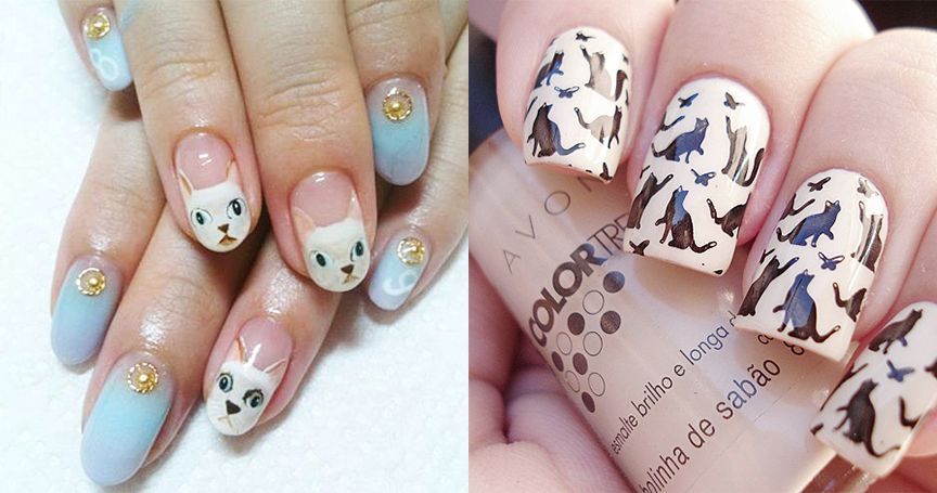20 Purrfect Nail Art Ideas For The Proud Cat Lady