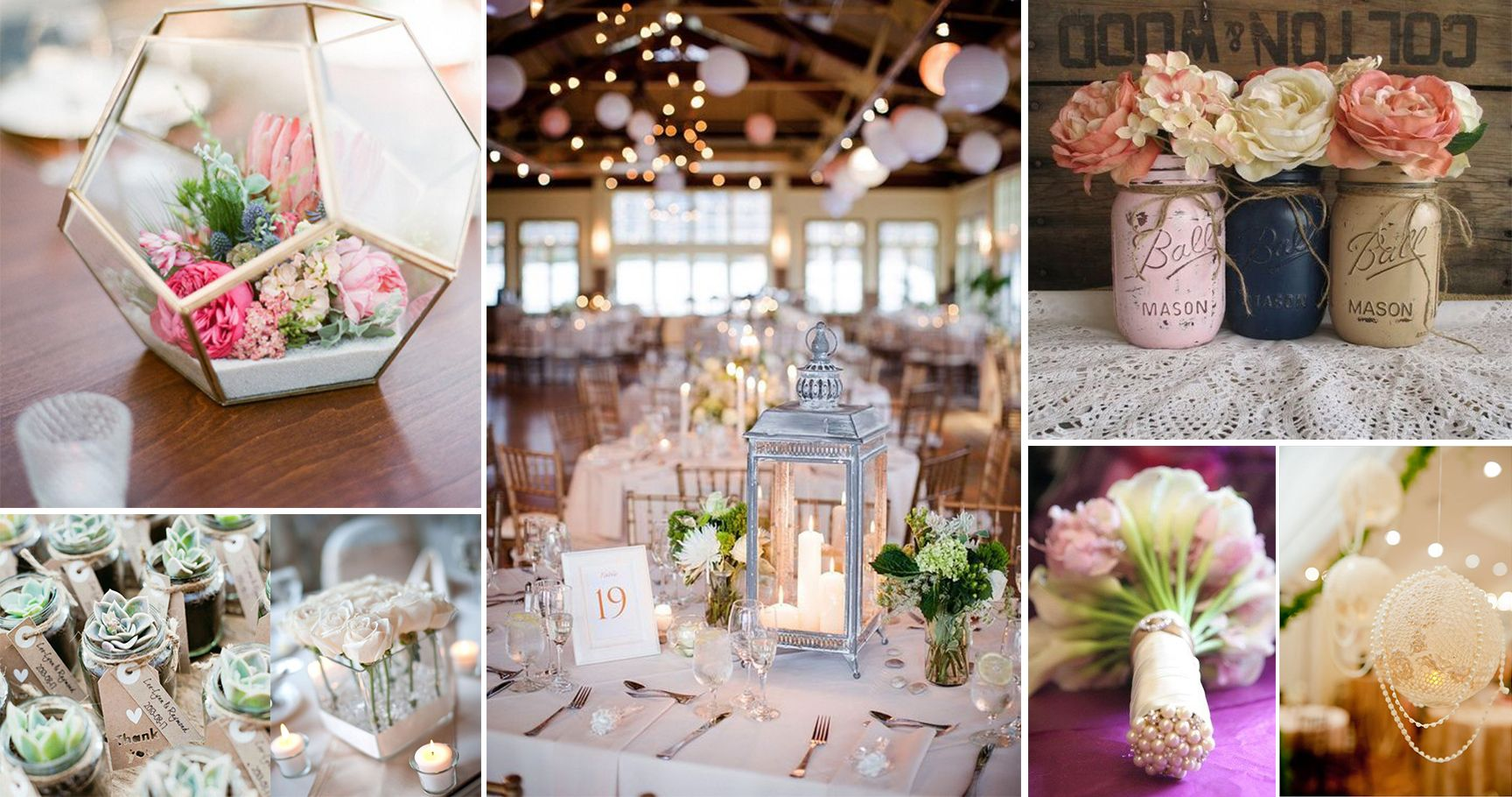 15 Gorgeous DIY Decorations For Your Wedding