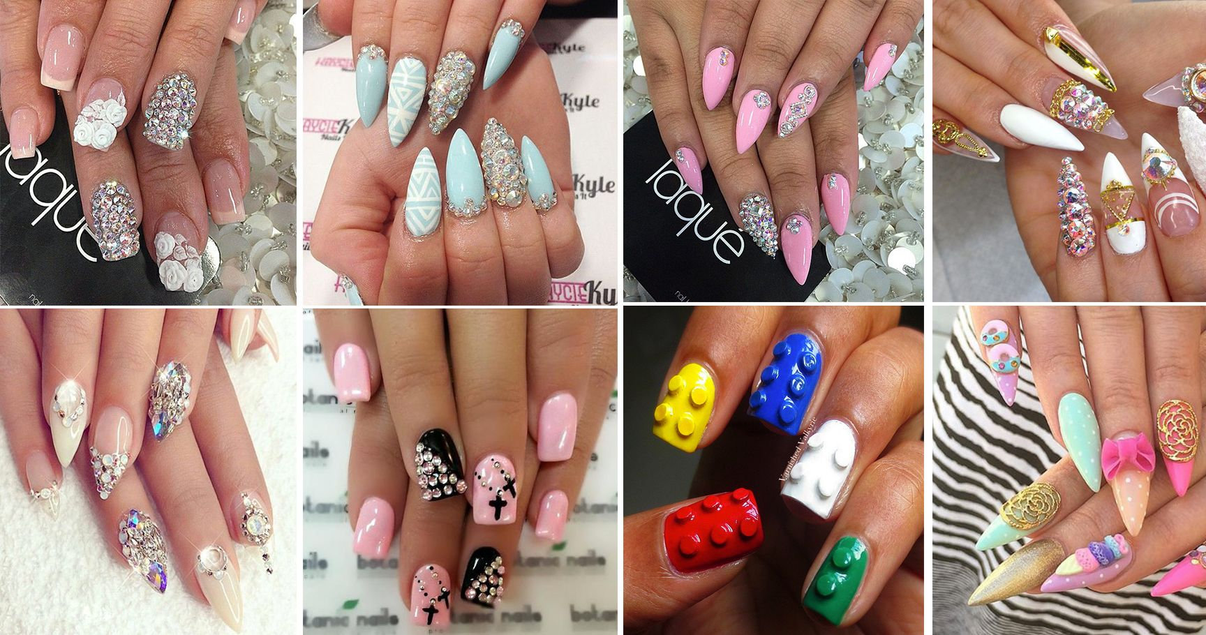 12 Nail Designs That Have Totally Gone 3D