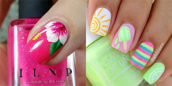 15 Colorful Nail Art Ideas That Will Get You Summer Ready
