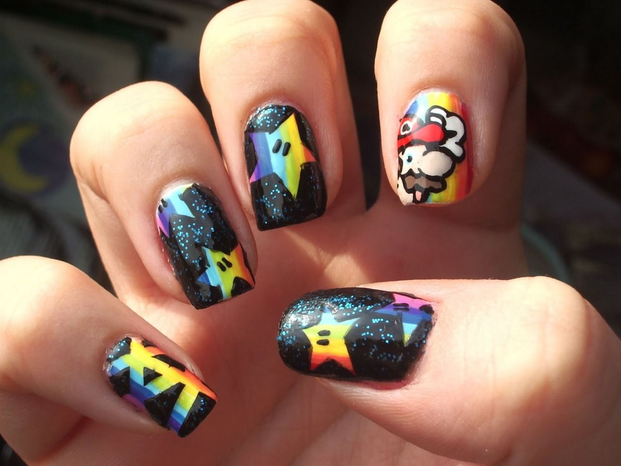 Get Your Geek On With These 21 Amazing Nail Art Designs