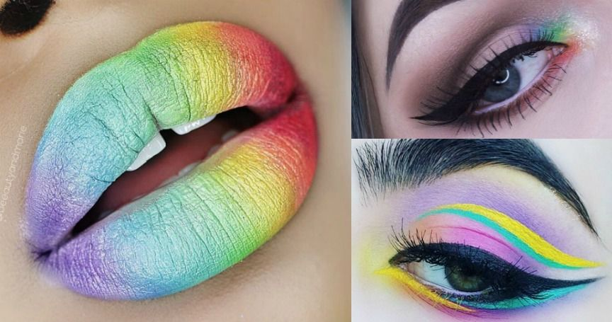 Rainbow-Inspired Makeup Looks That Will Bring Out Your Inner Unicorn