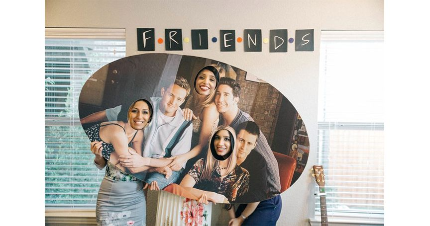 """These Gals Threw A """"Friends""""-Themed Bridal Shower And It Was Utter Perfection"""