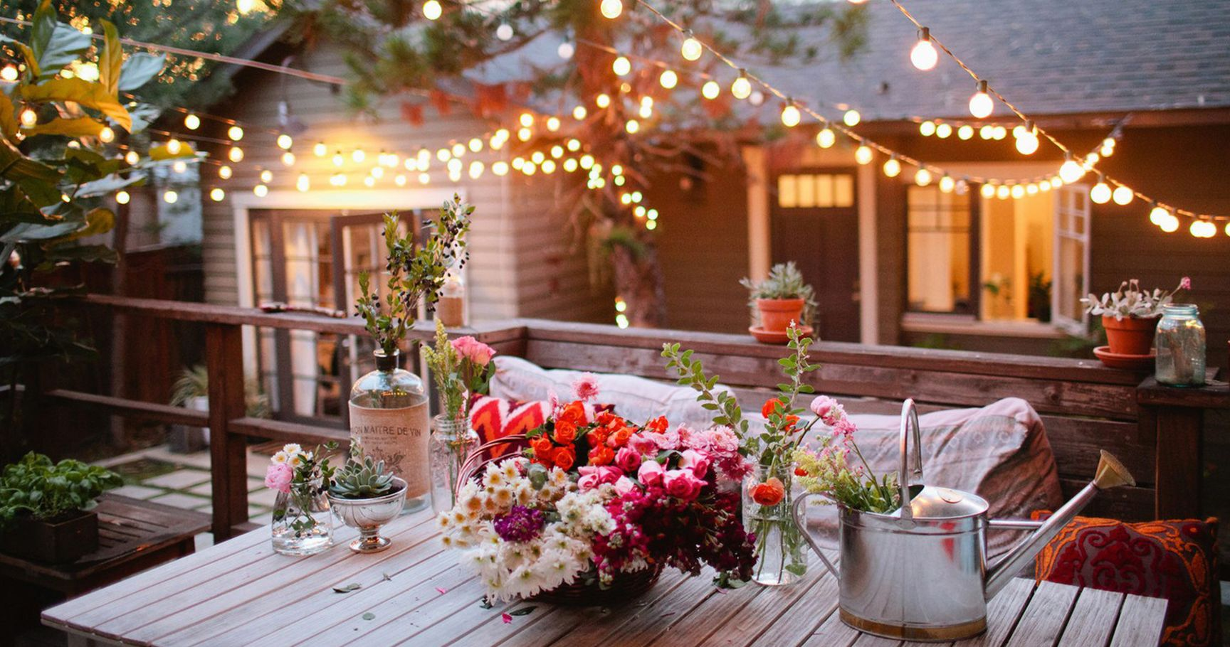 15 Ways To Decorate Your Backyard Into A Cozy Space
