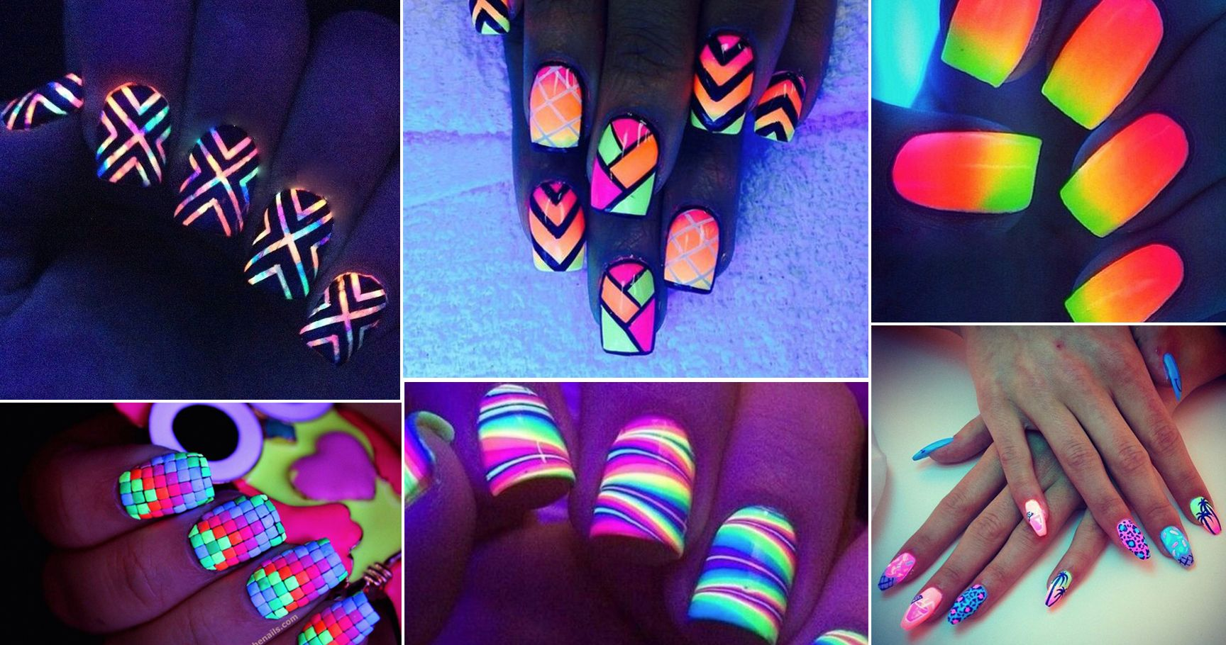 10 Sets Of Glow-In-The-Dark Nails That Will Light Up Your World