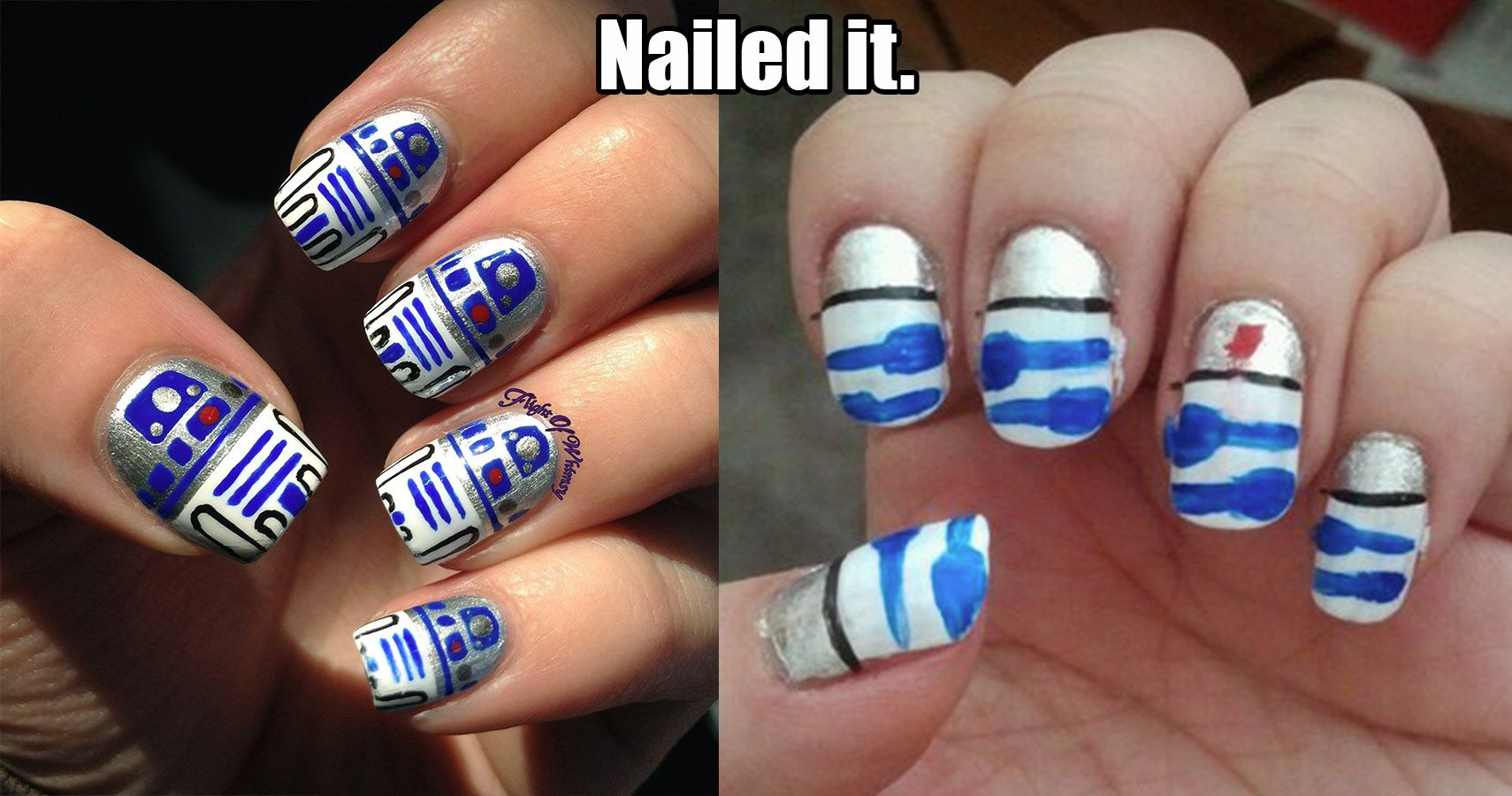 15 Of The Worst Nail Art Attempts That Totally #NailedIt