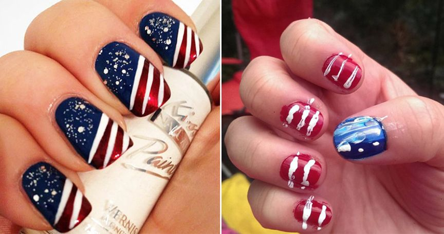 16 Holiday Nail Art Attempts That Ended Disastrously