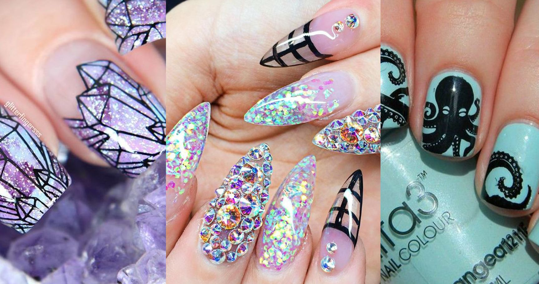 15 Wacky Nail Designs That Are Actually Mesmerizing