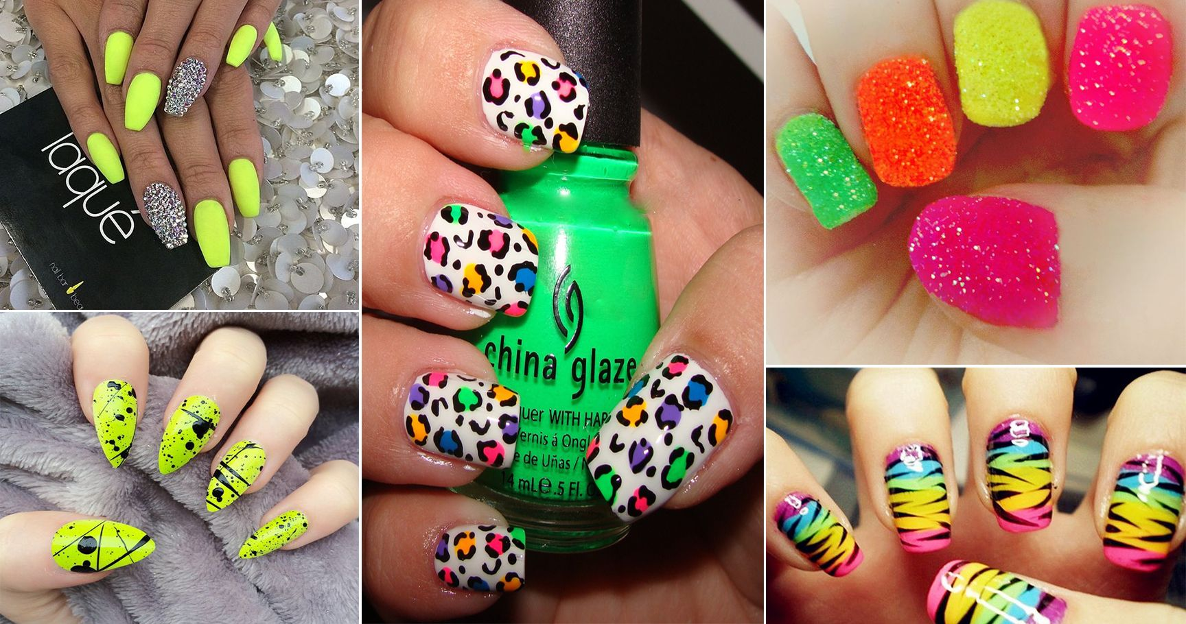 15 Neon Nail Designs You Must Try This Summer | TheThings