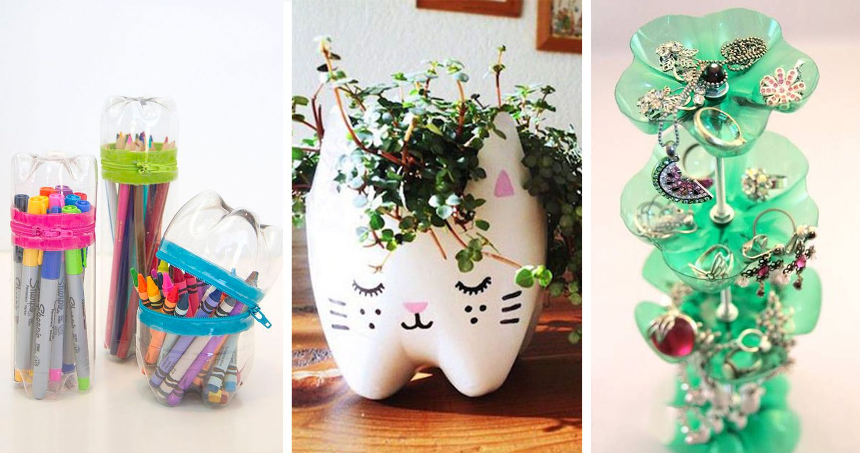 10 Creative DIY Projects To Reuse Plastic Bottles