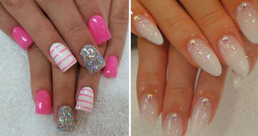 15 Sparkly Nail Designs You Have To Try