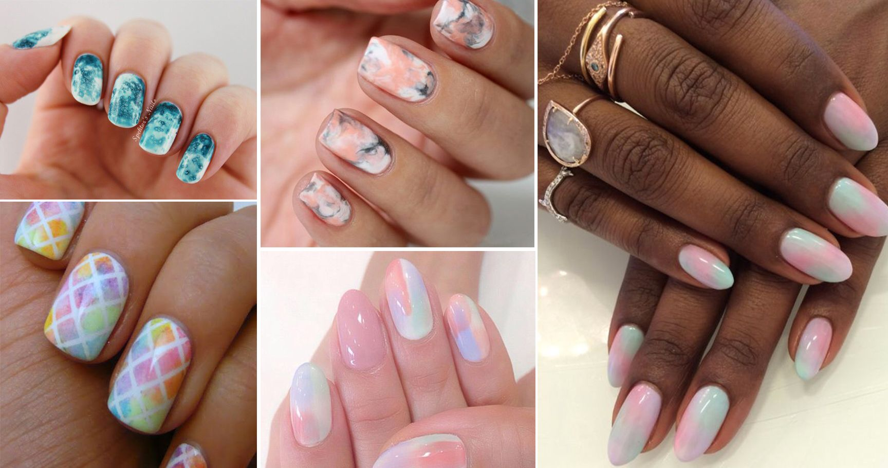 20 Gorgeous Watercolor Manicures You Have To Try