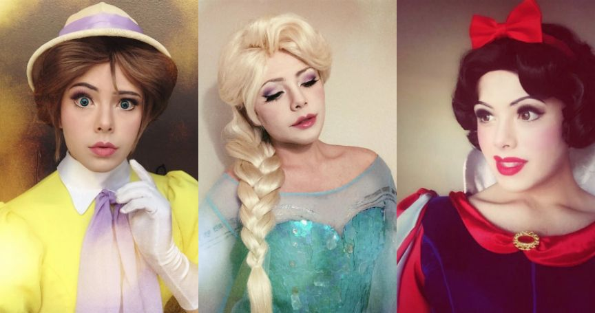 This Cosplayer Turns Himself Into Disney Characters And It's Amazing