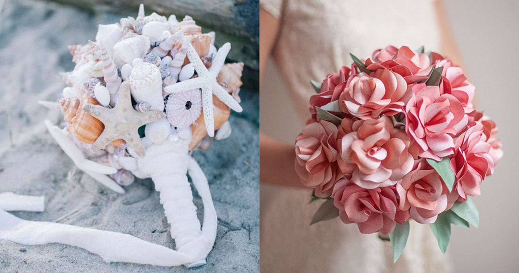10 Unique Non-Floral Bridal Bouquets That Are Totally DIY