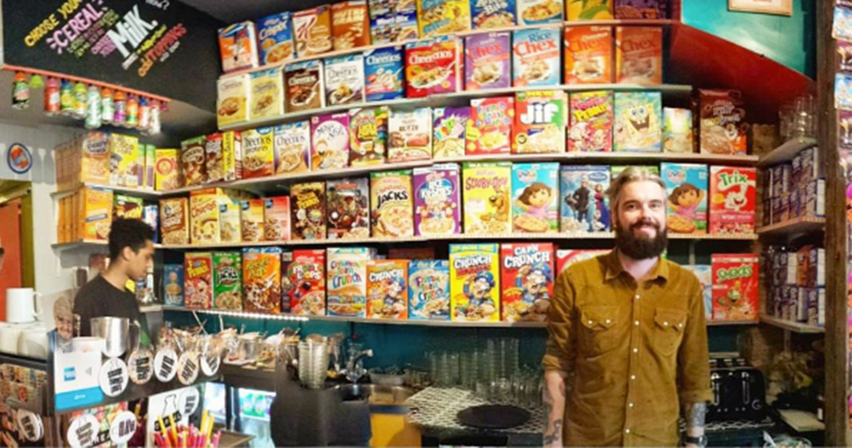 This Cereal Cafe In London Is What Dreams Are Made Of