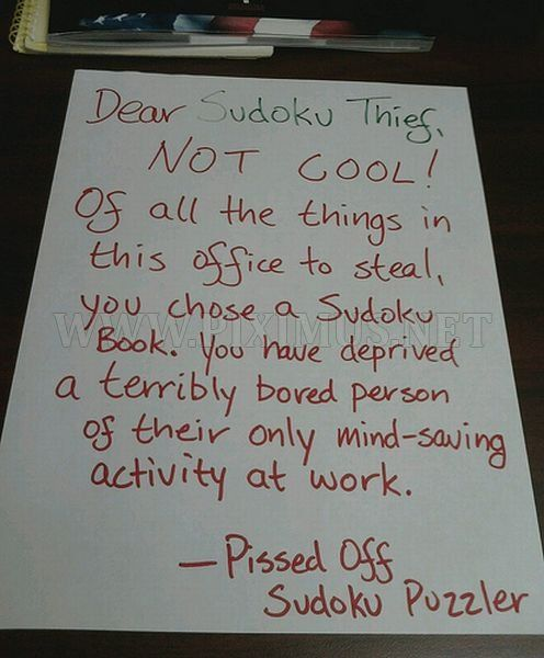 15 Passive Aggressive Office Notes That Are Both Hilarious And ...