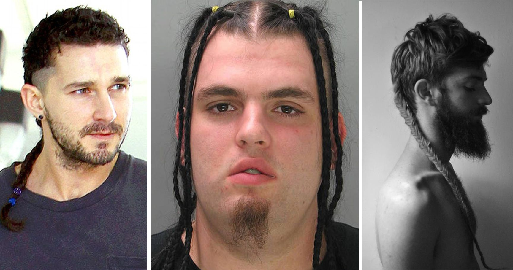 13 Of The Craziest Man Braids To Ever Grace The Internet