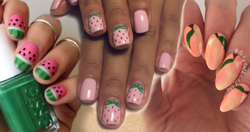 15 Fruit-Inspired Nail Art Designs To Refresh Your Summer