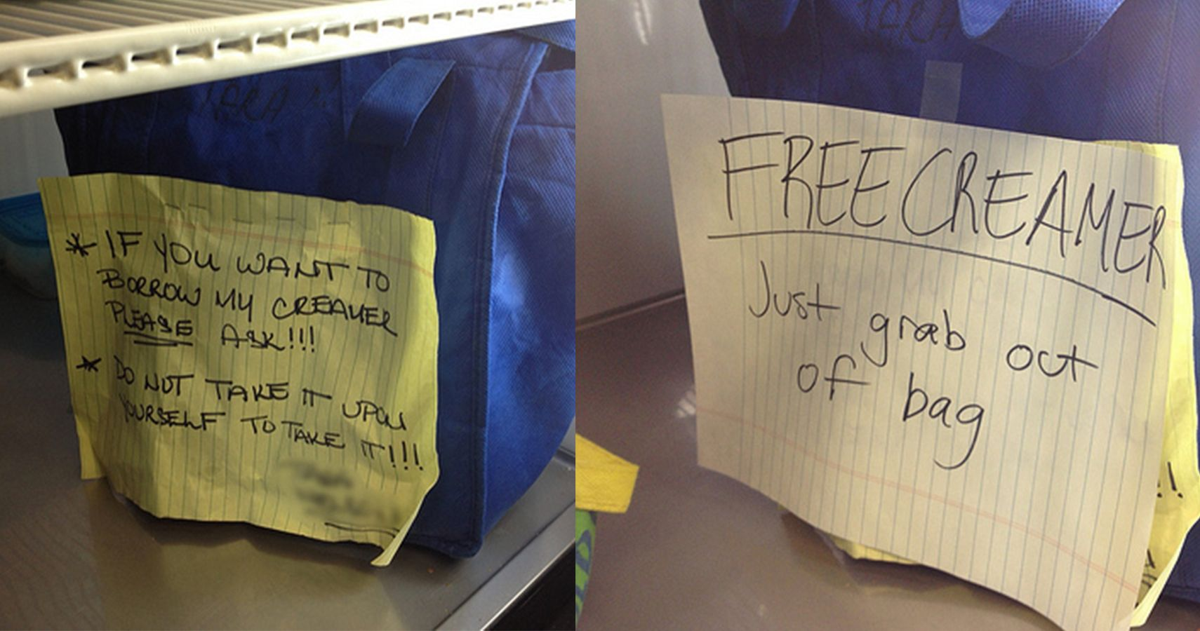 15 Passive Aggressive Office Notes That Are Both Hilarious And Annoying
