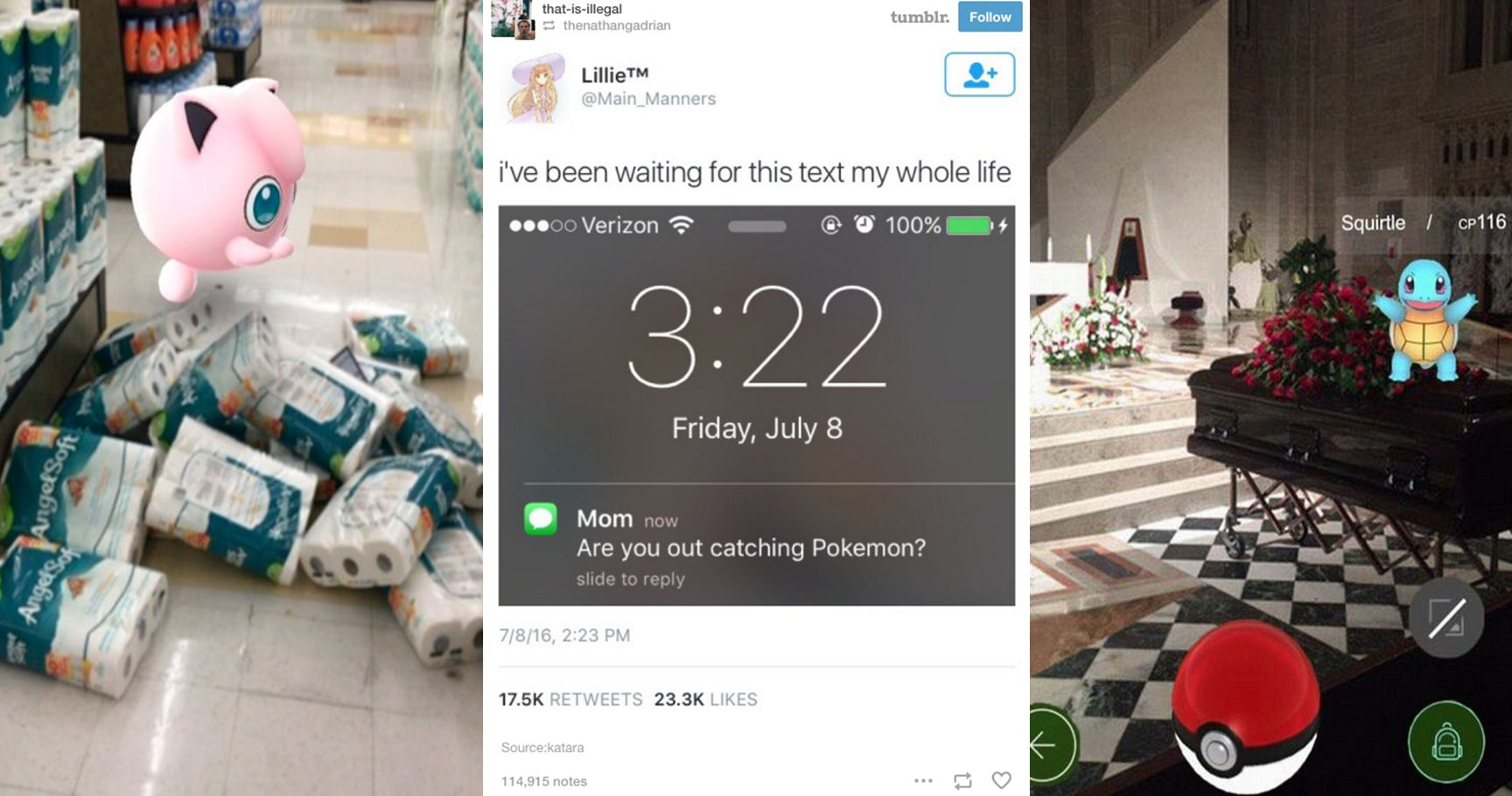 15 Times Pokémon GO Captured Our Real Life Fails