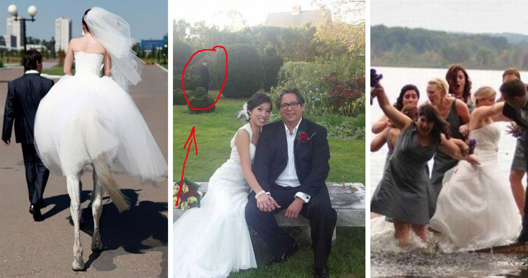 15 Wedding Photo Fails That Will Have You Cringing So Hard
