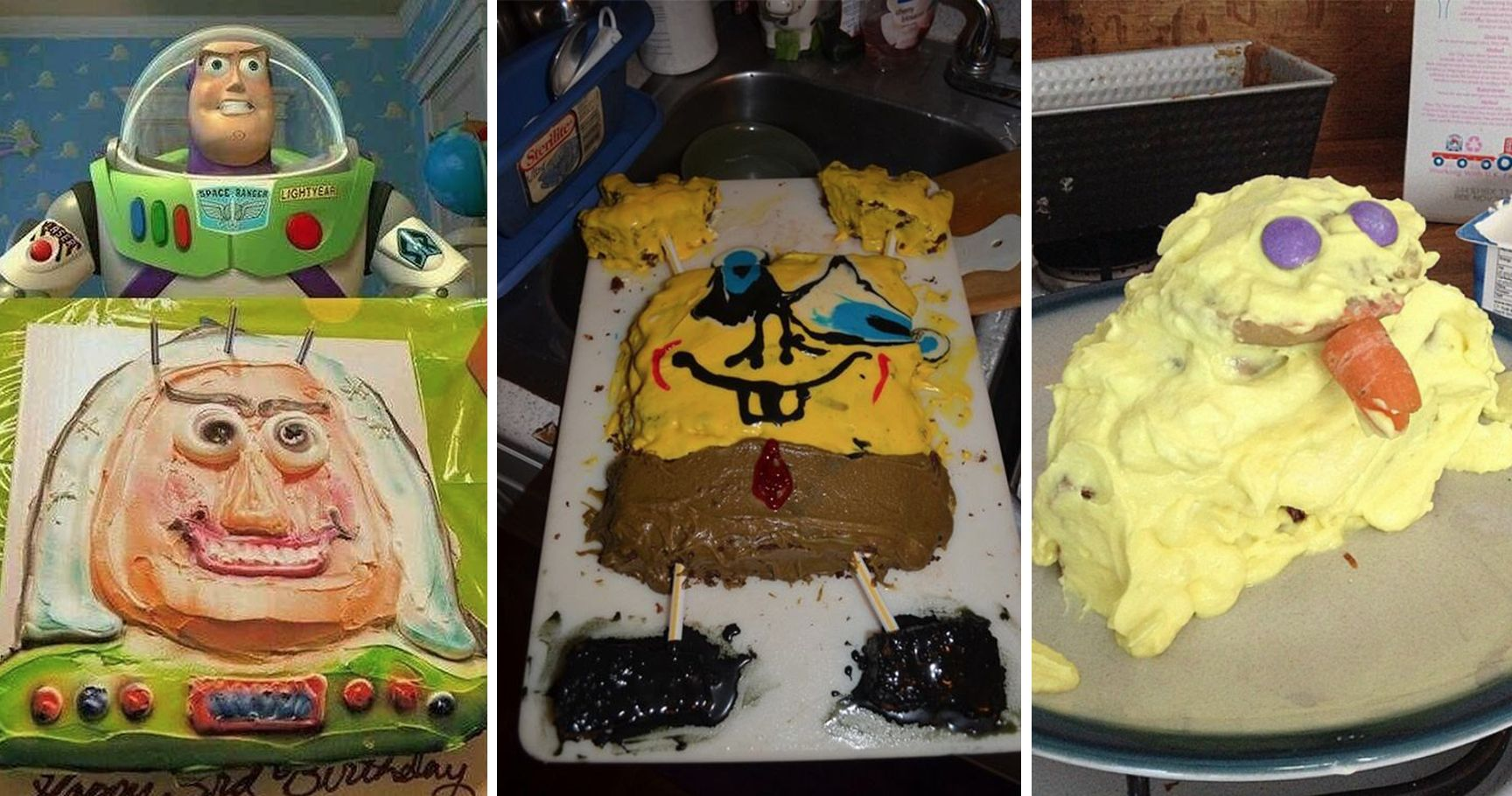 15 Birthday Cake Fails So Bad, They Would Make You Cry