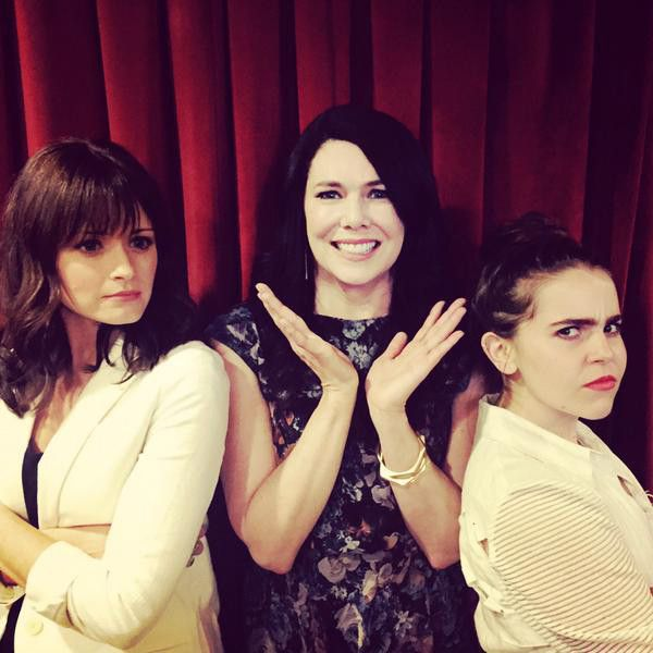 http://www.eonline.com/news/664254/lauren-graham-s-tv-daughters-mae-whitman-and-alexis-bledel-finally-meet-and-the-result-is-priceless