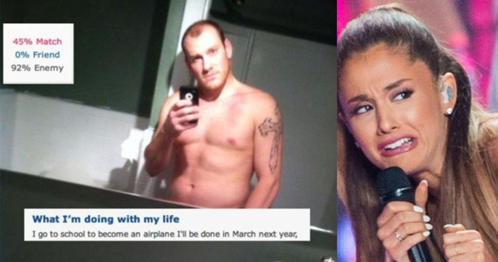 You Think The World Is Cruel Mean And Harsh Take A Look: 15 Awful Dating Profiles That Will Scar You For Life