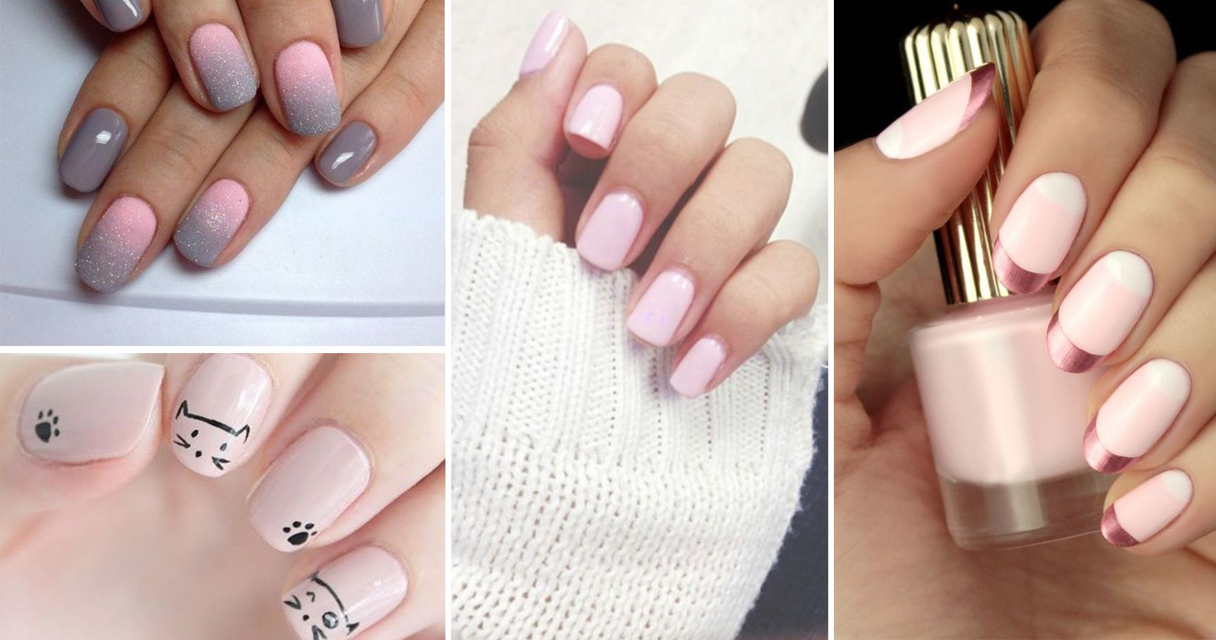 16 Pretty In Pink Manicures For The Non-Girly Girls