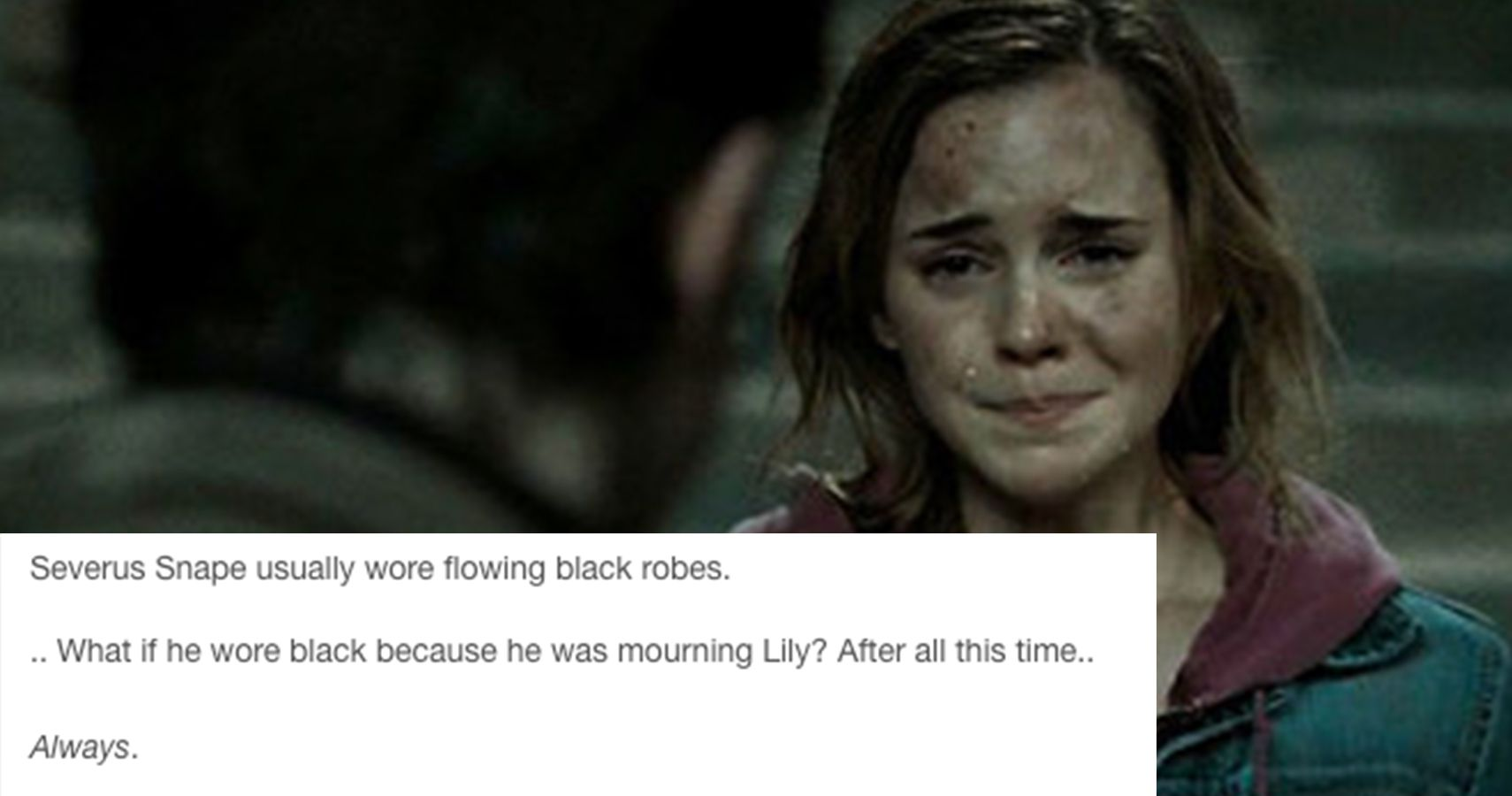 15 Harry Potter Tumblr Posts That Will Break Your Damn Heart