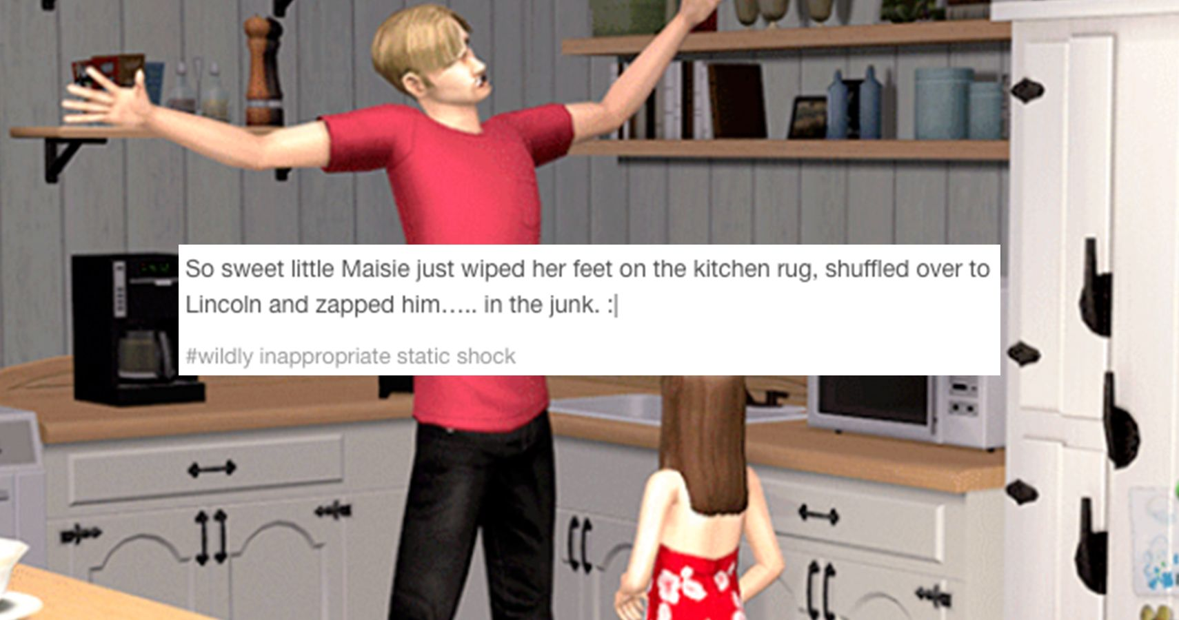 15 Of The Most Inappropriate Tumblr Posts About The Sims That Will Make You LOL