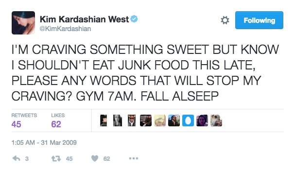 15 Reasons Why Kim Kardashian's Twitter In 2009 Was The Best