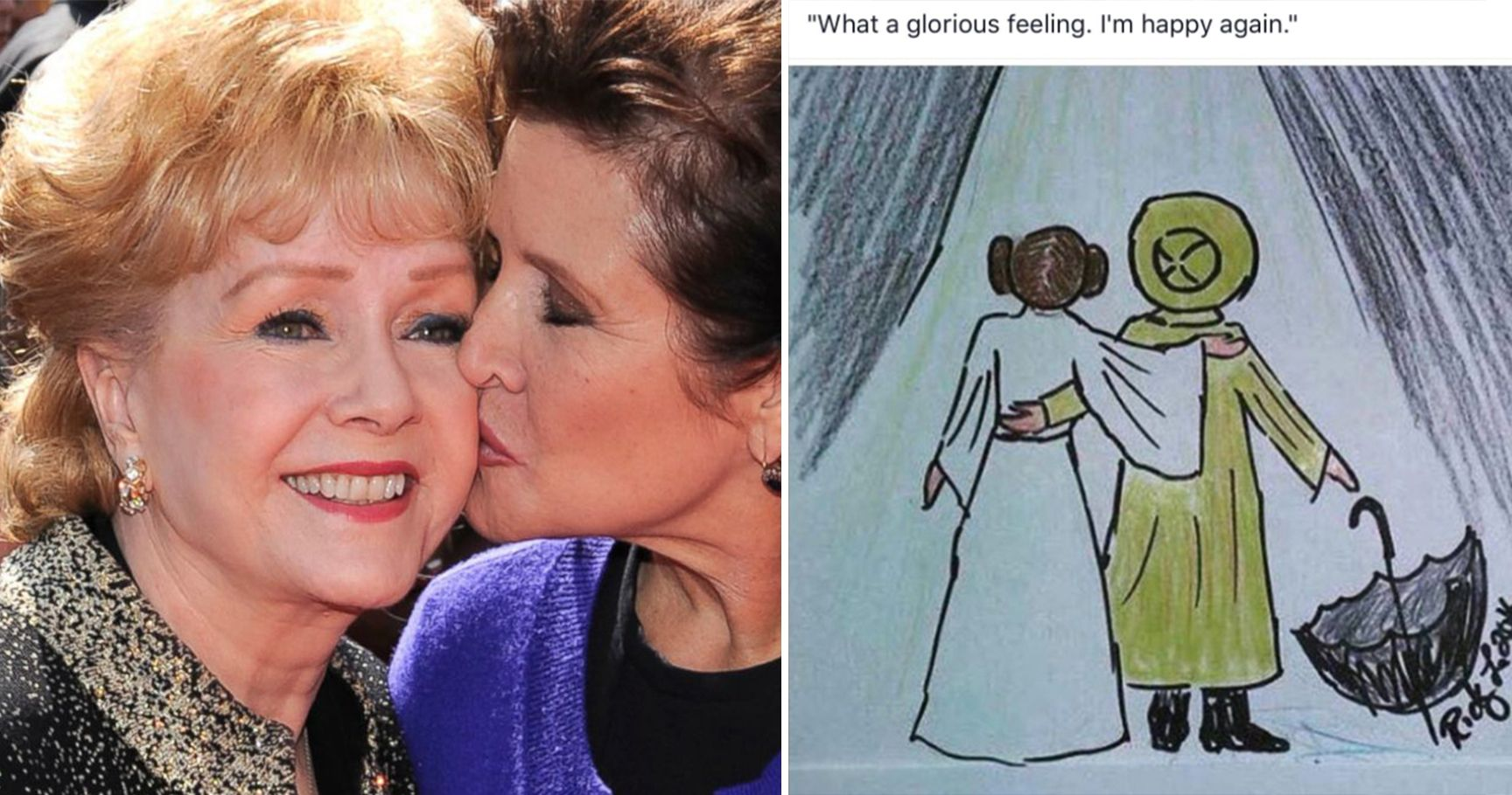 16 Iconic Times That Debbie Reynolds And Carrie Fisher Were The Ultimate Dream Team