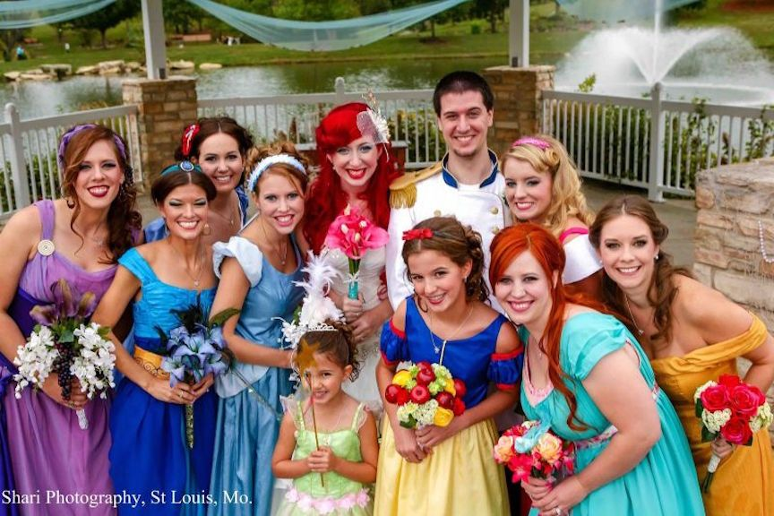 16 Of The Most Over The Top Disney Themed Weddings