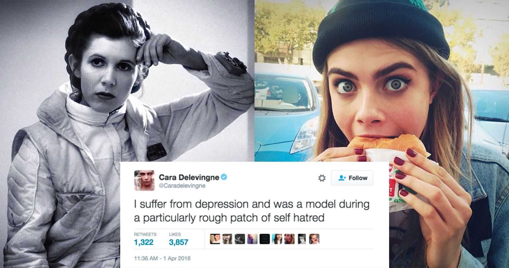 15 Celebrities Who Gave The Middle Finger To The Mental Health Stigma