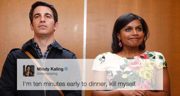 15 Hilarious Tweets By Mindy Kaling That Are Just Relatable AF