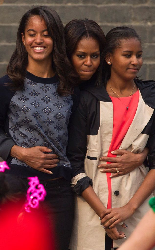 http://www.eonline.com/news/643307/michelle-obama-doesn-t-think-her-daughters-sasha-and-malia-are-influential-at-all-watch-now
