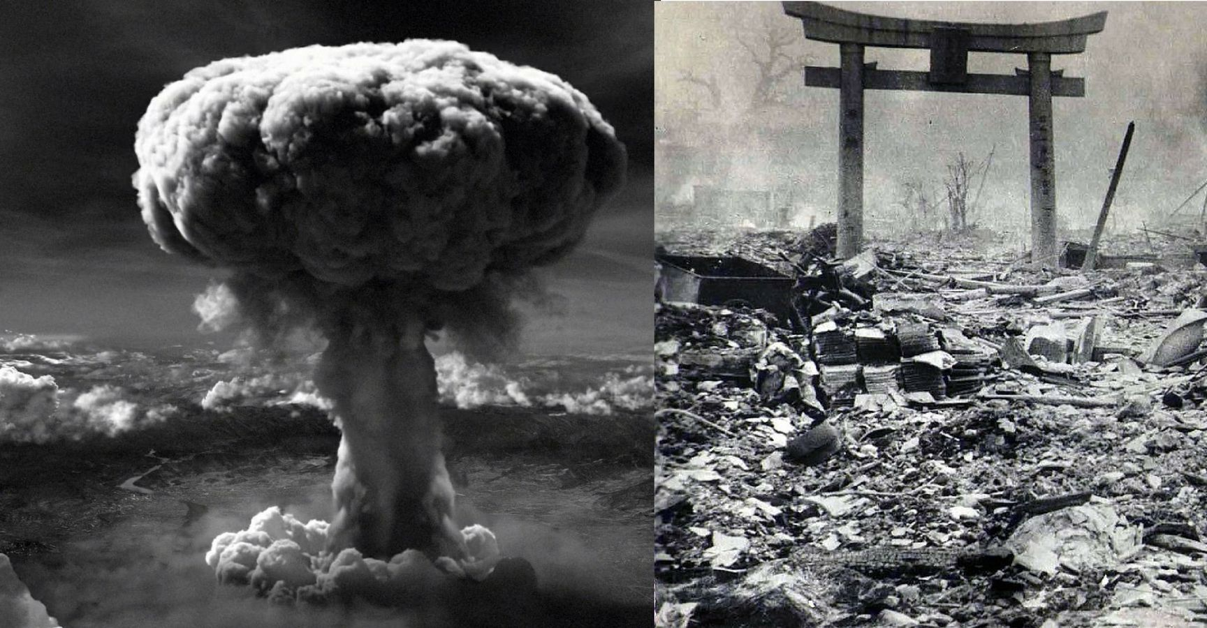 an evaluation of the devastating effects of the atomic bombs