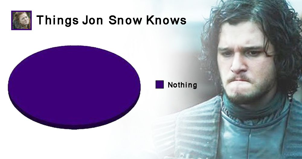 15 Of The Most Hilarious 'You Know Nothing Jon Snow' Memes Of All Time