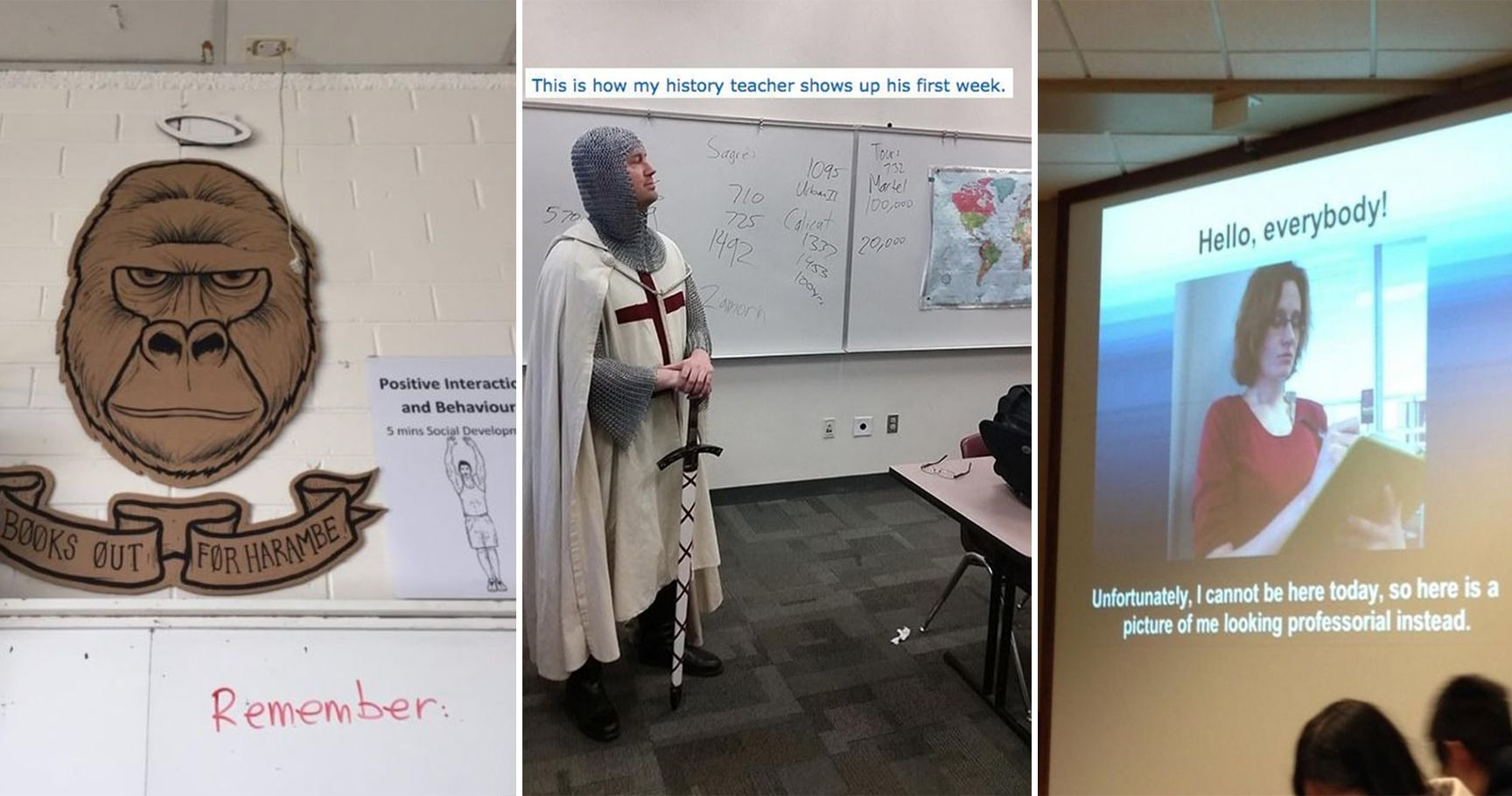 15 Hilarious Teachers Who Totally Win At Life