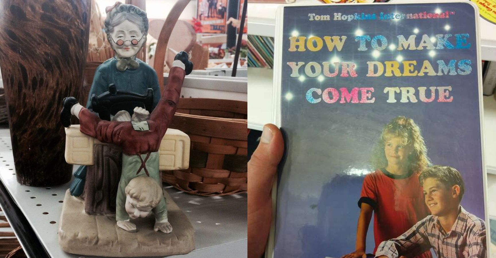 18 Things People Found In Antique Stores That Will Leave You Scratching Your Head