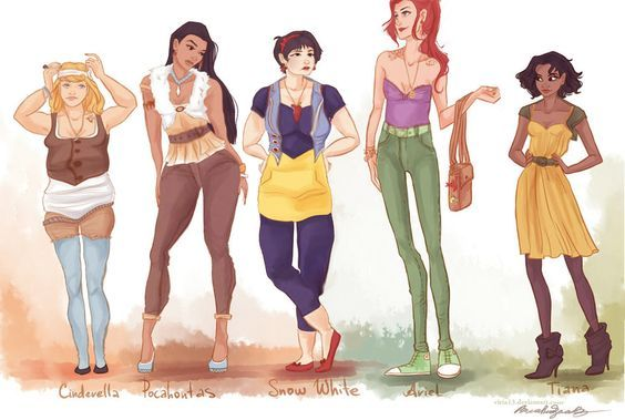 15 Disney Princesses Who FINALLY Have Realistic Waistlines