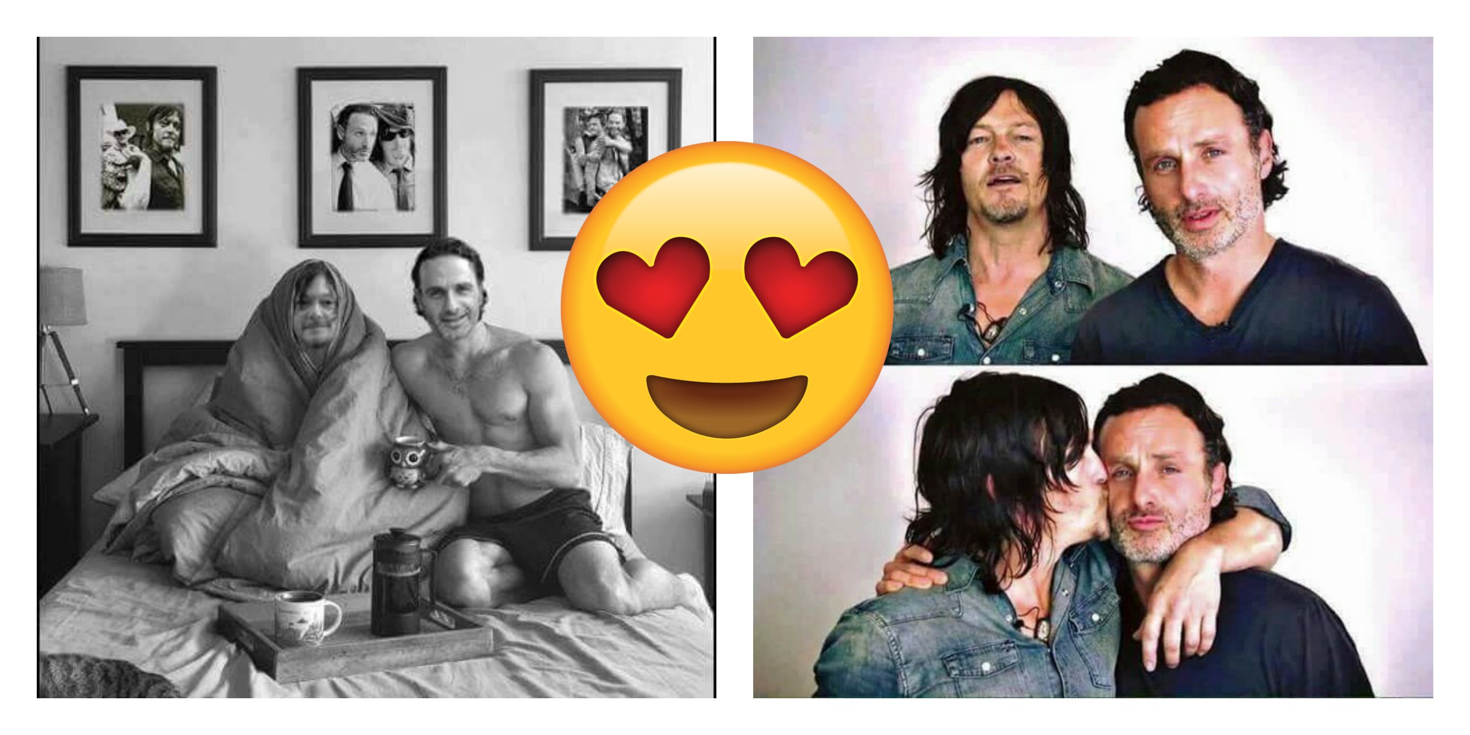 15 Must-See Photos That Sum Up Andrew Lincoln's and Norman Reedus' Bromance
