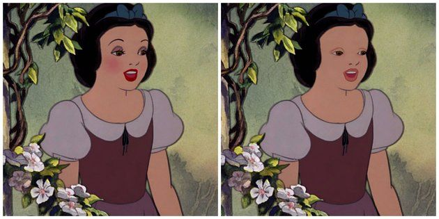 Cartoon Characters WITHOUT Makeup
