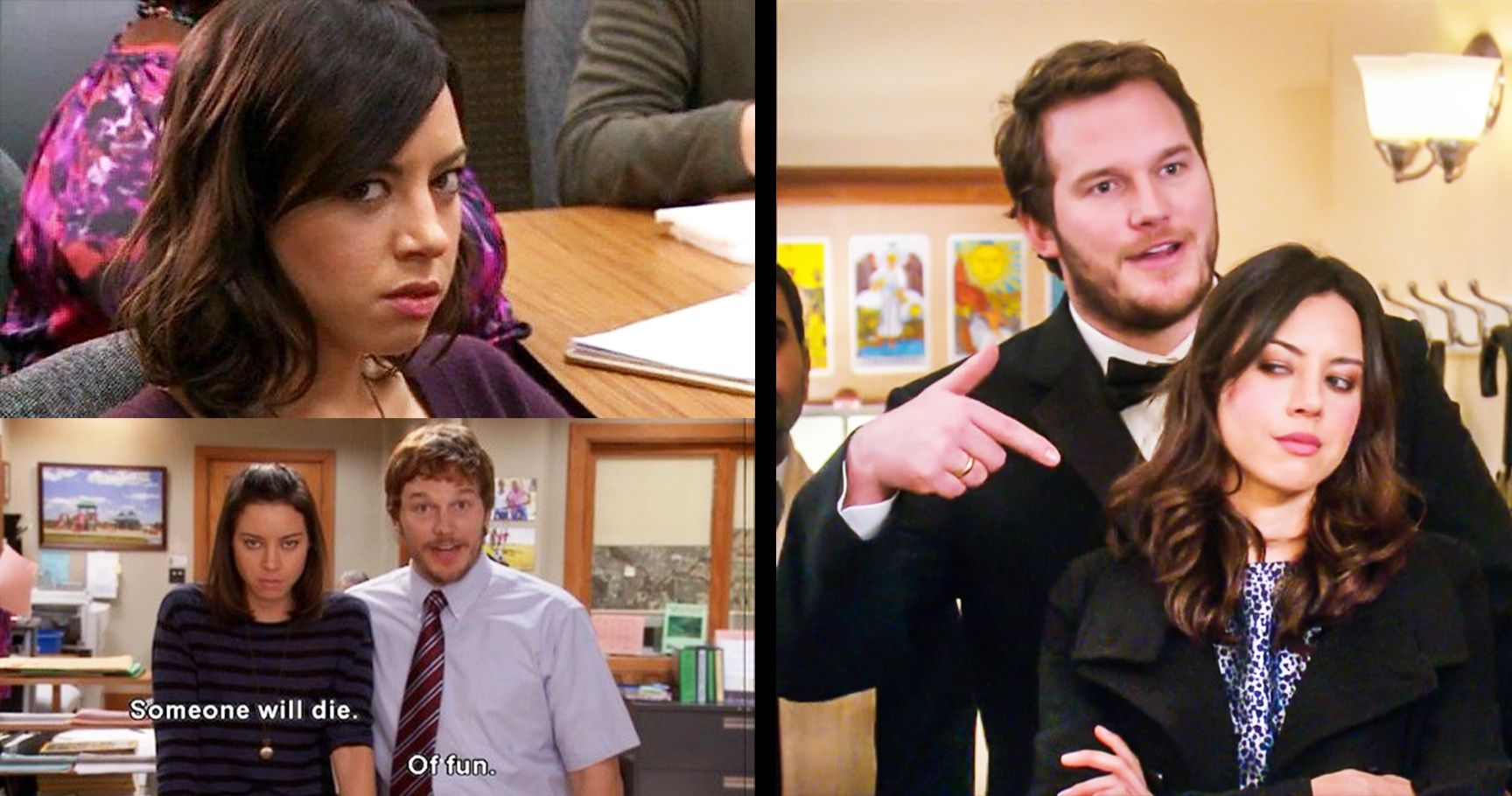 16 times april ludgate from parks and recreation was secretly all of us. Black Bedroom Furniture Sets. Home Design Ideas