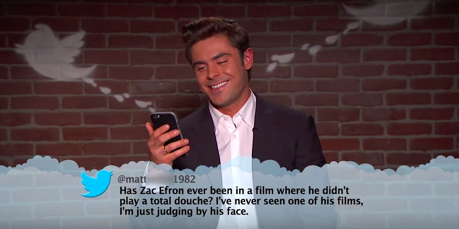 15 Hysterical Celebrity Burns From Jimmy Kimmel's 'Mean Tweets'