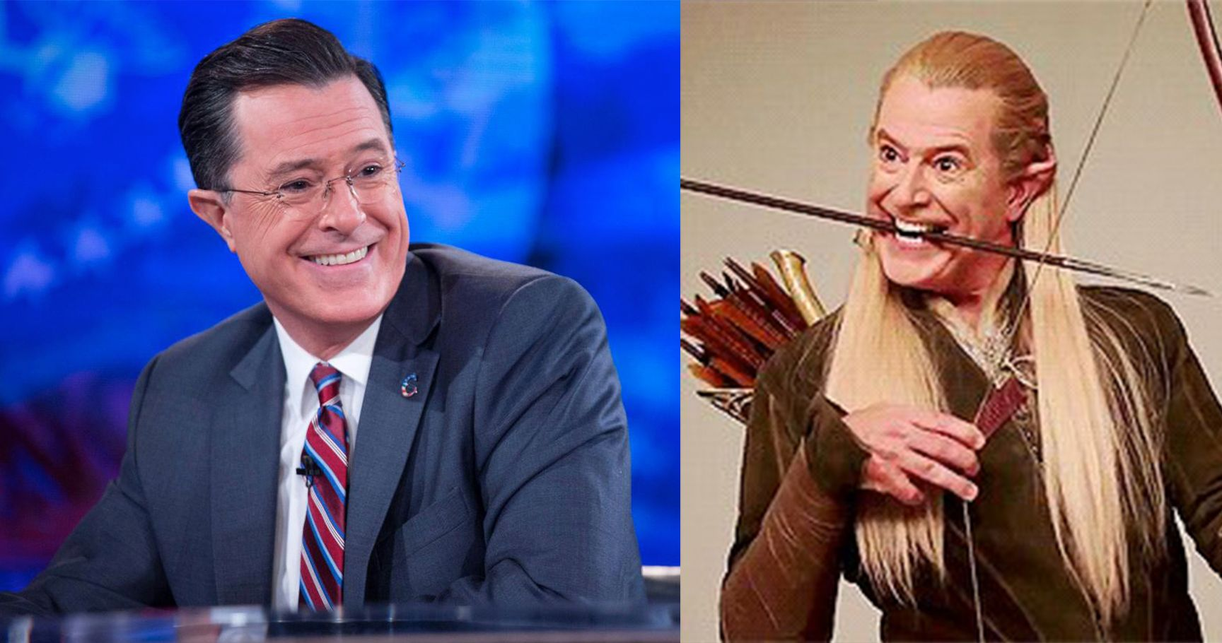 16 Times Stephen Colbert Hilariously Fangirled Over 'The Lord Of The Rings'